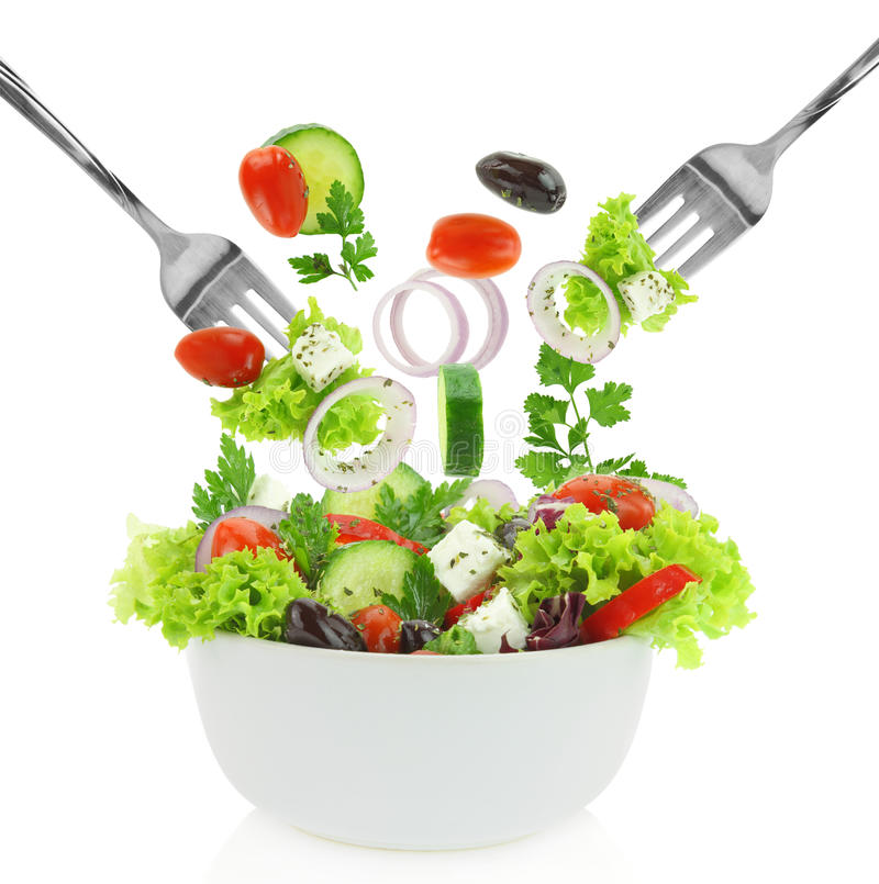 Fresh mixed vegetables stock image