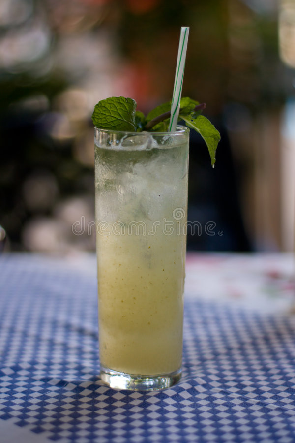 Free Fresh Mojito With Mint In A Glass. 2 Royalty Free Stock Photos - 7033008