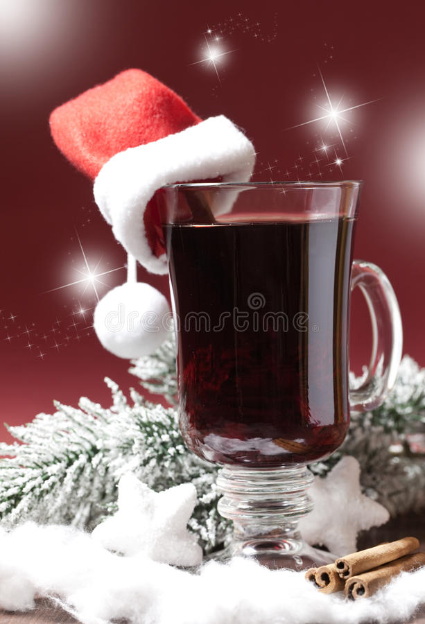 Download Fresh mulled wine with hat stock image. Image of wine - 20523487