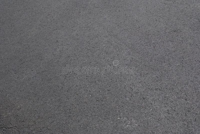 Fresh new asphalt road stock image