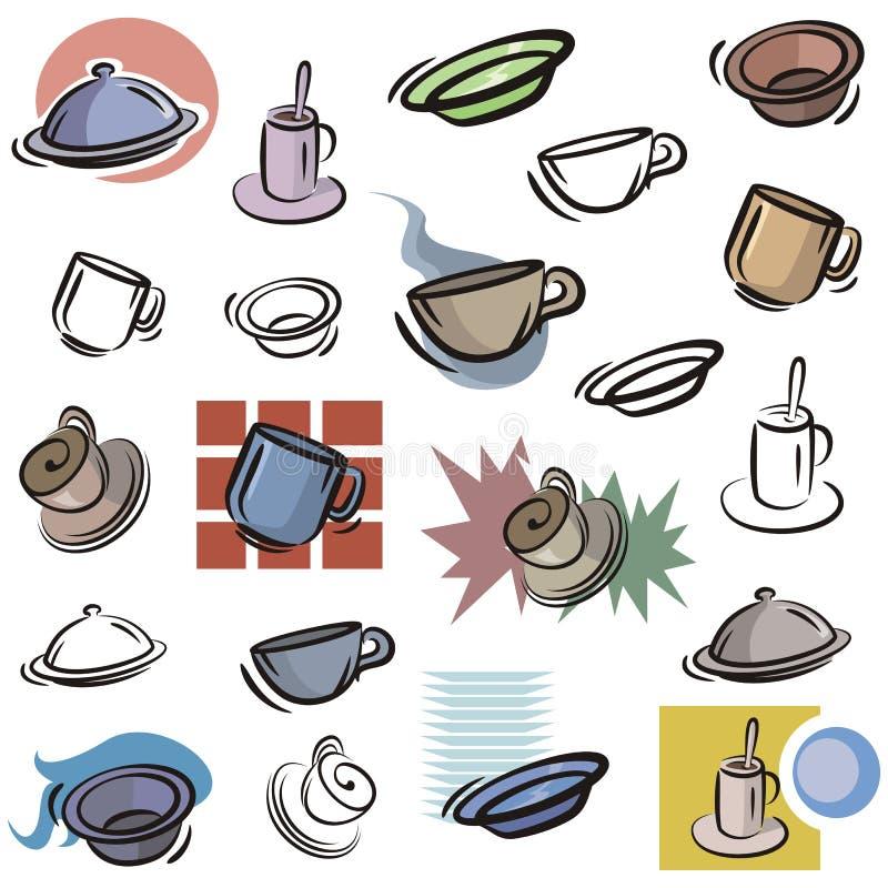 Fresh object series stock illustration