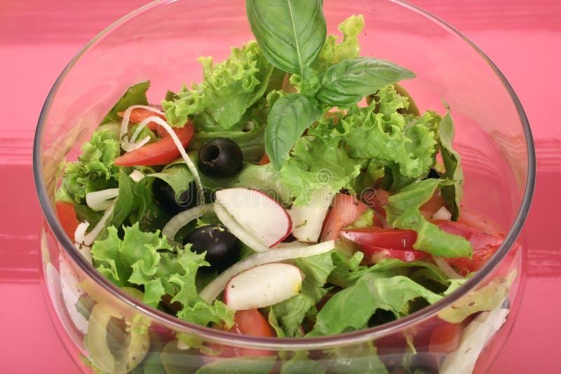 A fresh olive salad stock photos