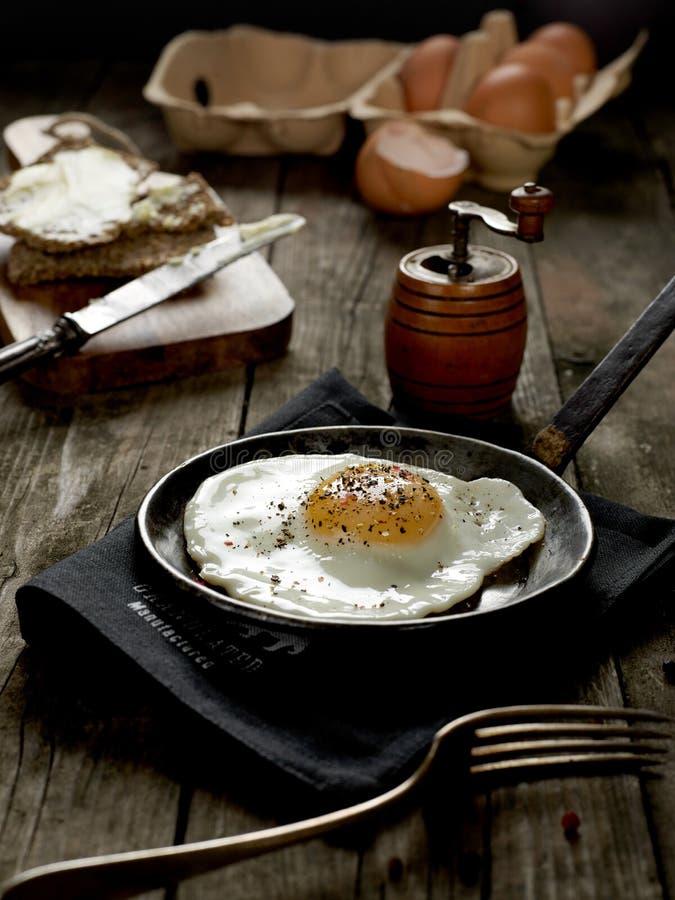 Fresh omelette stock photography