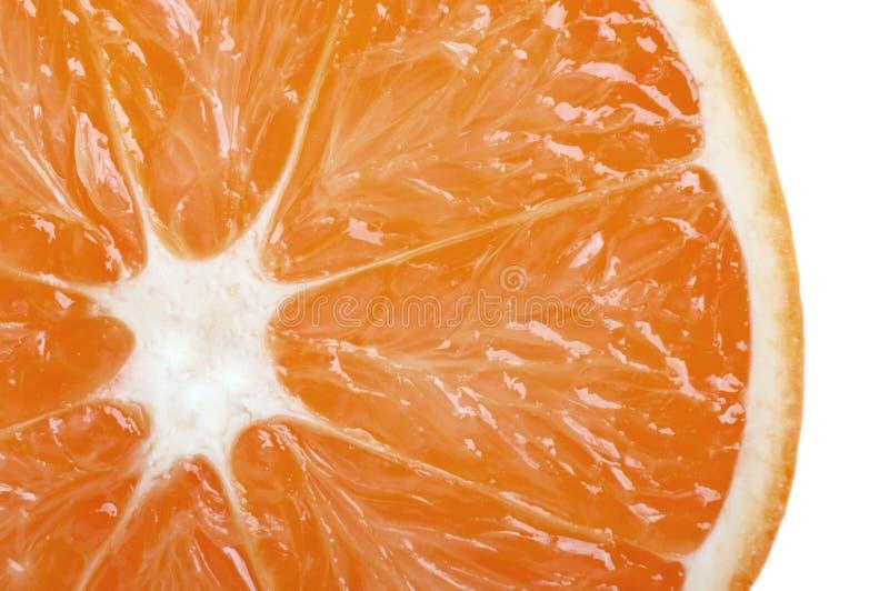 Fresh orange closeup stock photography