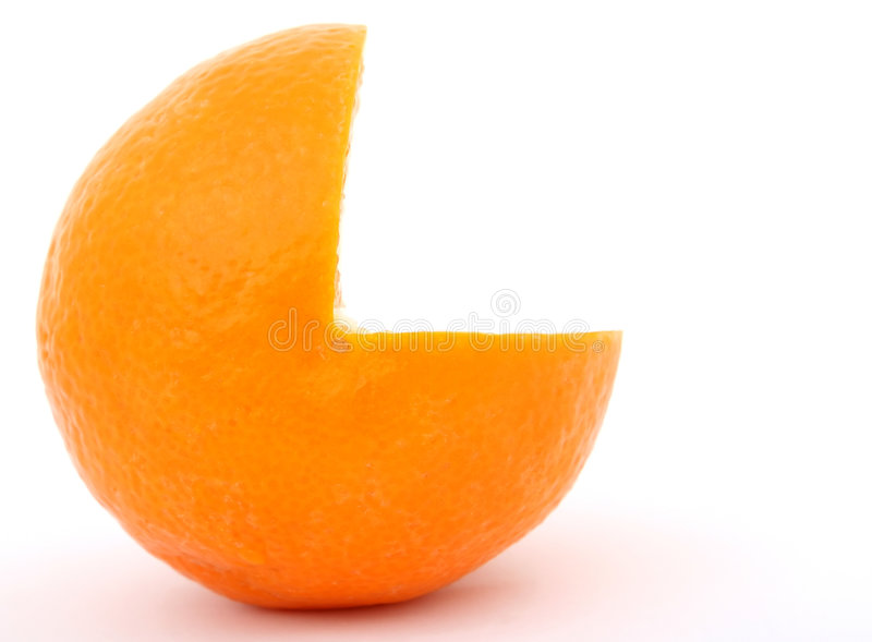 Fresh orange fruit royalty free stock photography