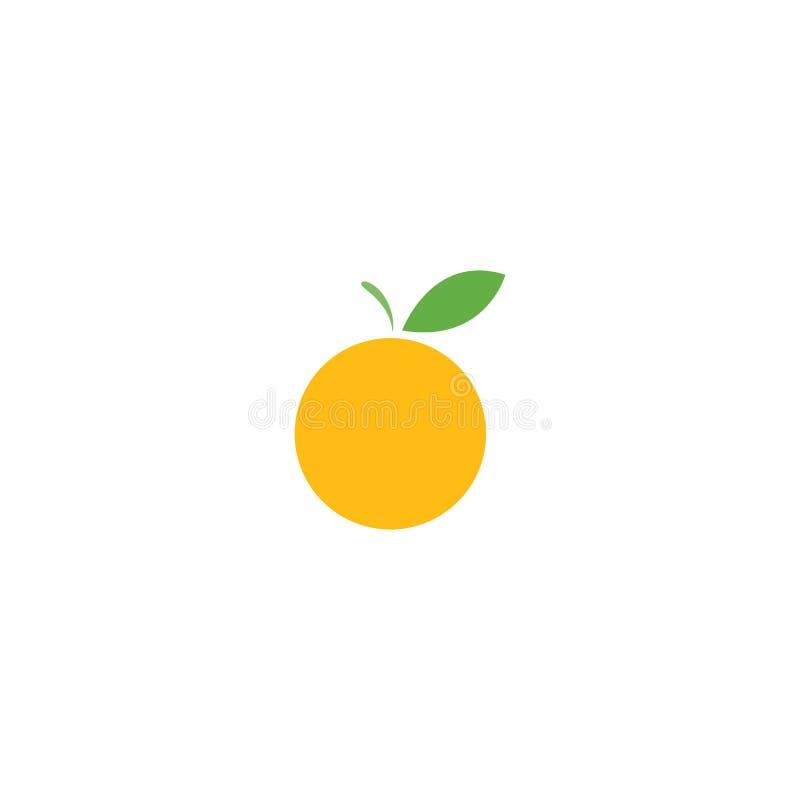 Fresh Orange fruit logo. Ilustration vector template, store, delicious, alcohol, vegetable, harvest, shop, nutrition, ripe, glass, tasty, lemonade, slice, eco royalty free illustration