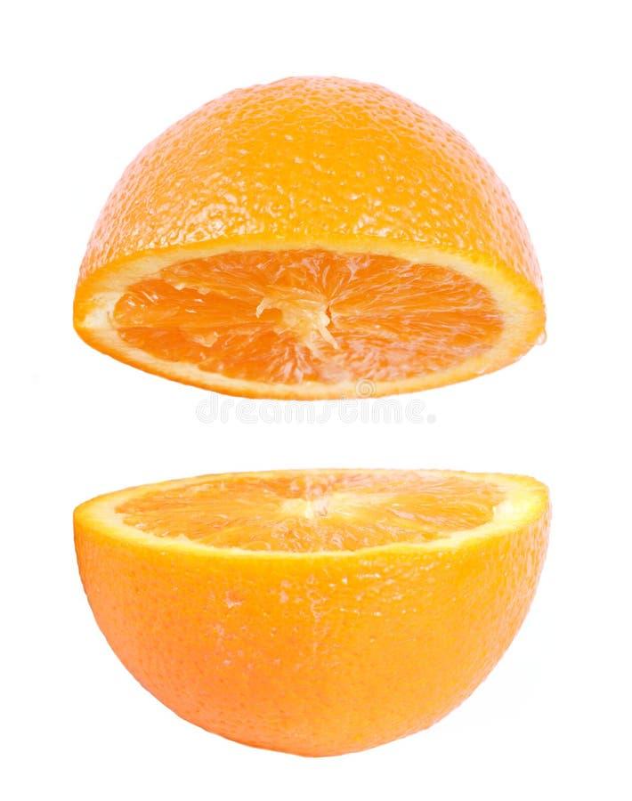 Download Fresh orange isolated stock image. Image of orange, juicy - 25199291