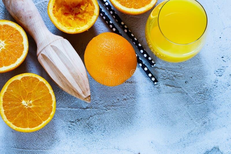 Fresh orange juice royalty free stock images