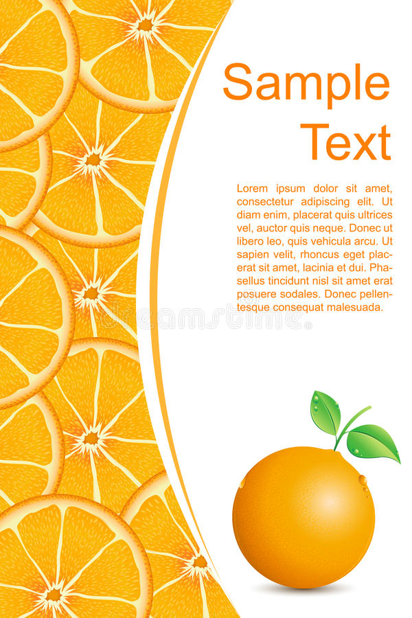 Download Fresh Orangy Background Royalty Free Stock Images - Image: 18383109