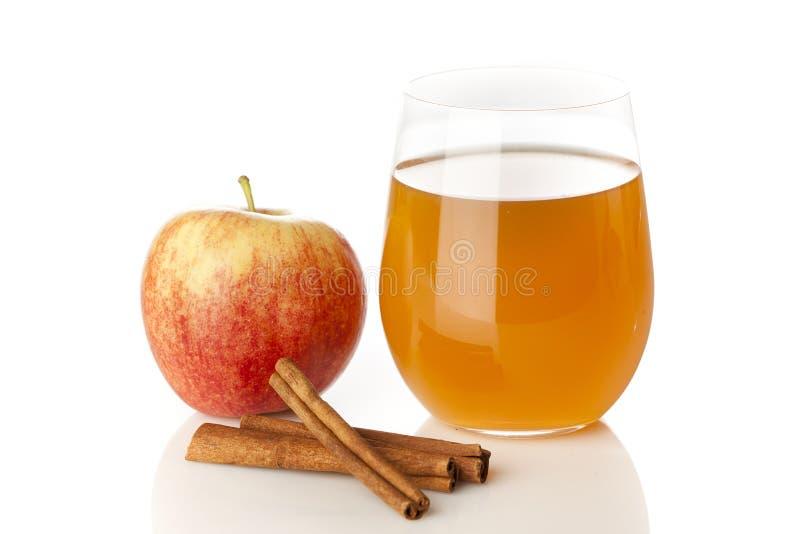 Fresh Organic Apple Cider stock images