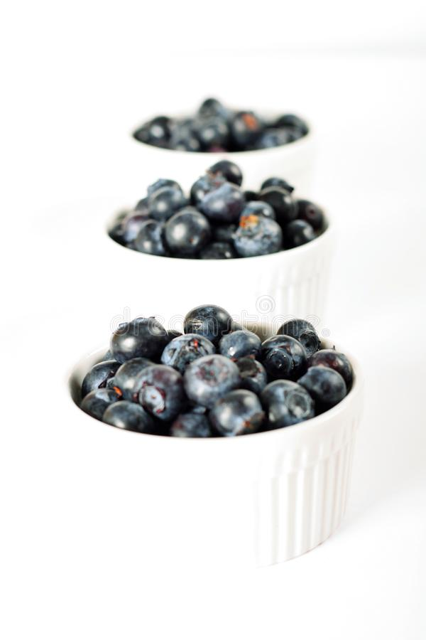 Download Fresh Organic Blueberries In Ramekins Stock Image - Image of natural, gourmet: 14935125