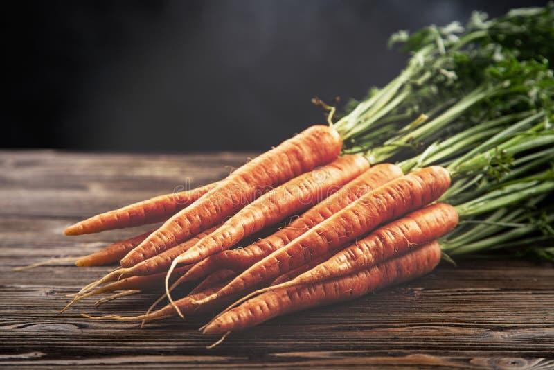 Fresh organic carrot stock photos