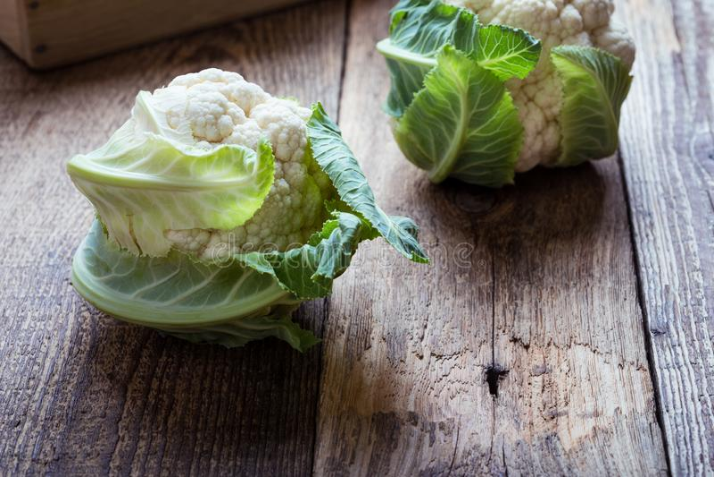 Fresh organic cauliflower, plant based food. Fresh organic homegrown cauliflower, vegan meal, plant based food, close up, selective focus stock photos