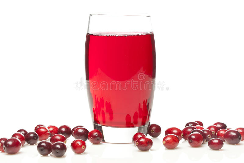 Fresh Organic Cranberry Juice royalty free stock images