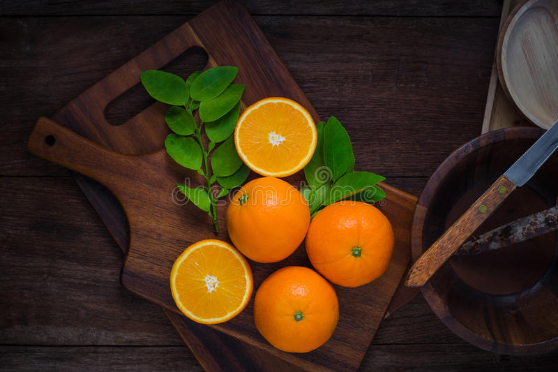 Fresh organic oranges fruit stock photography