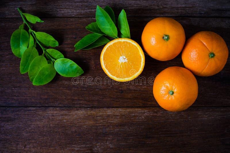 Fresh organic oranges fruits stock photo