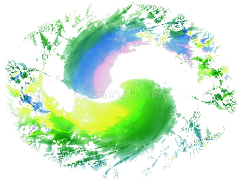 Download Fresh Paint Brush Splatters 2 Stock Illustration - Image: 2009363