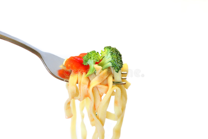 Download Fresh pasta stock image. Image of carbohydrate, flowerettes - 7350273