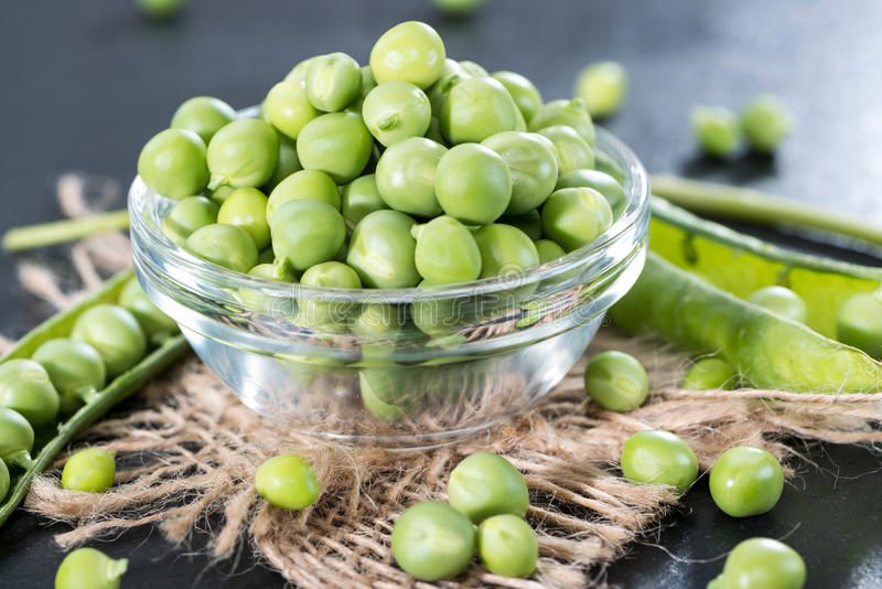 Download Fresh Peas stock image. Image of agriculture, closeup - 39515447