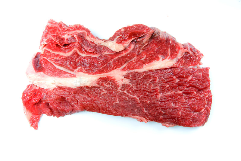 Download Fresh Piece Of Steak For Grilling Stock Photo - Image of juicy, entrees: 1955604