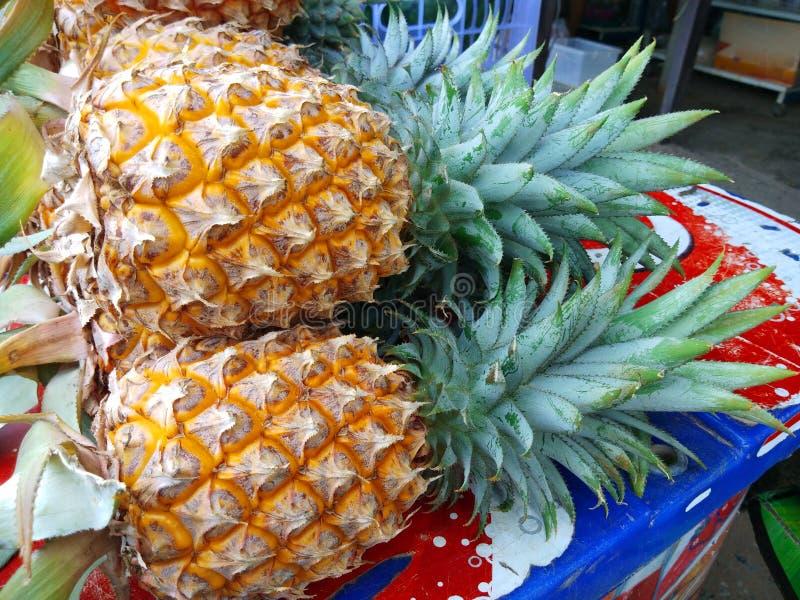 Fresh Pineapples stock photos