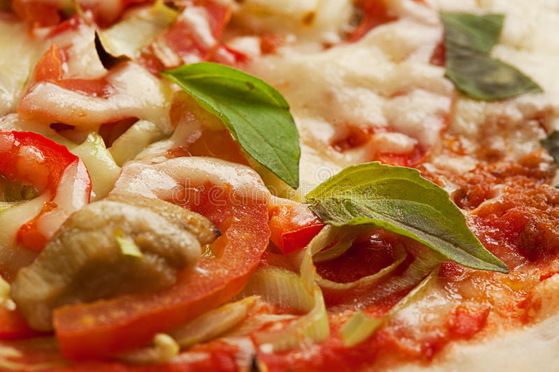 Download Fresh pizza stock photo. Image of close, restaurant, food - 16994868