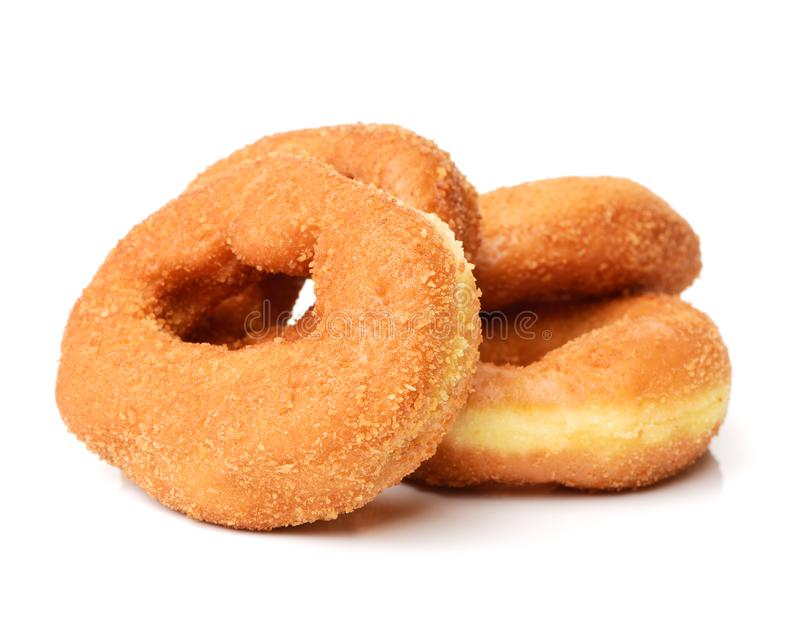 fresh plain bagel stock image