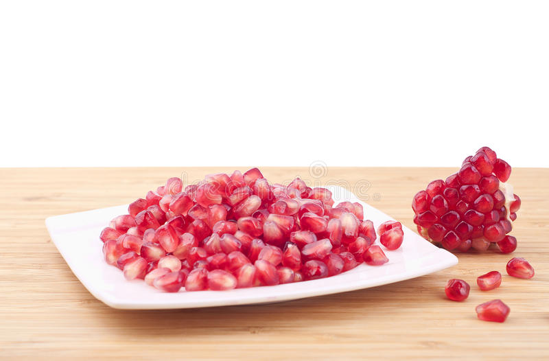 Download Fresh pomegranate stock image. Image of eating, juicy - 25532519