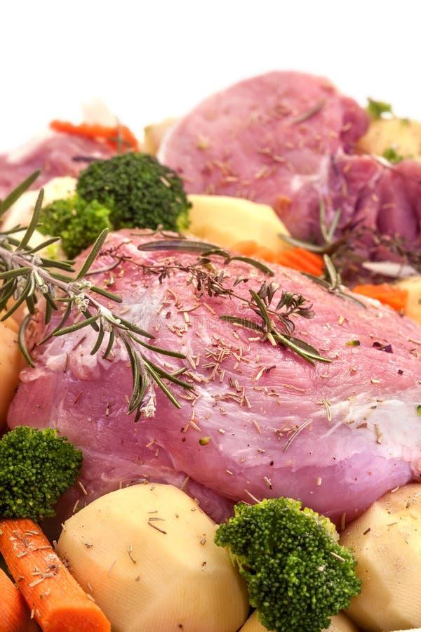 Fresh pork meat royalty free stock photography