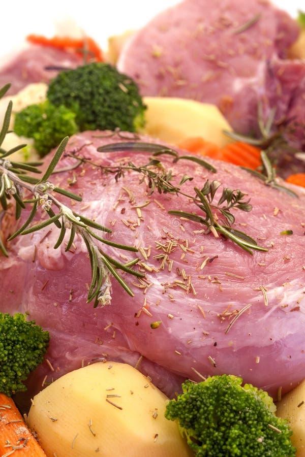 Fresh pork meat royalty free stock image