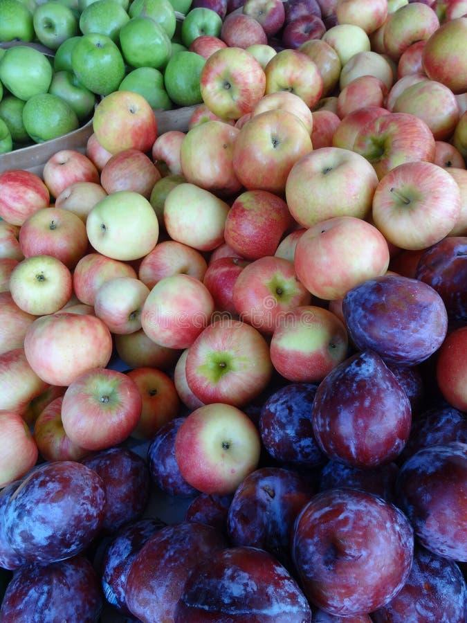 Fresh Produce at a Farmers' Market stock photo