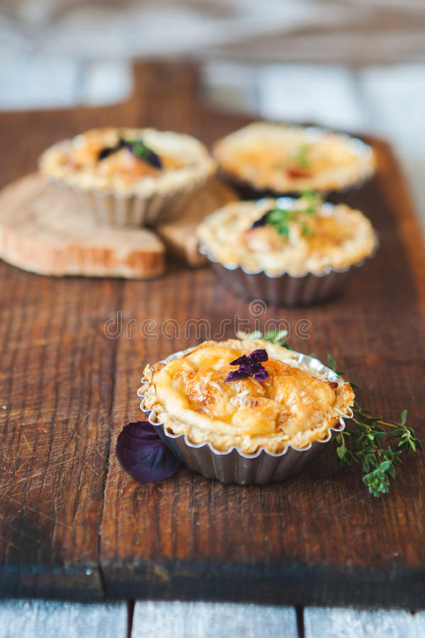 Download Fresh Quiche lorraine stock photo. Image of dish, cheese - 83709008