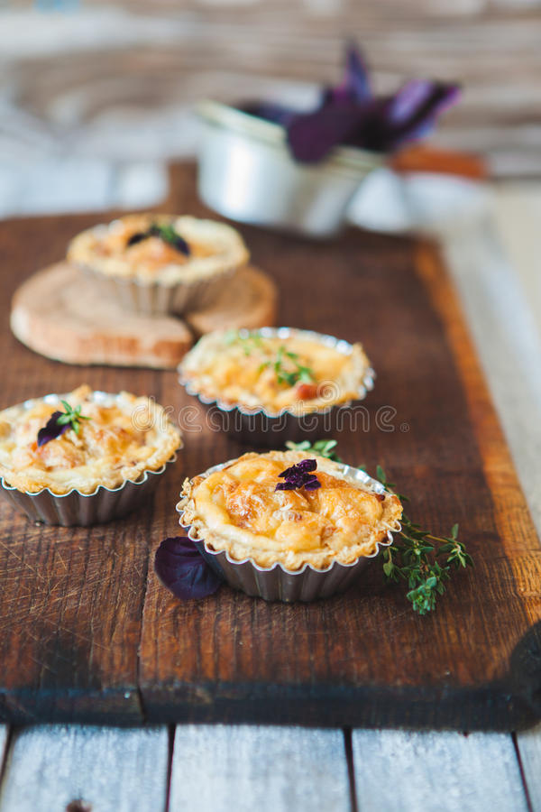 Download Fresh Quiche lorraine stock image. Image of lunch, pastry - 83710355