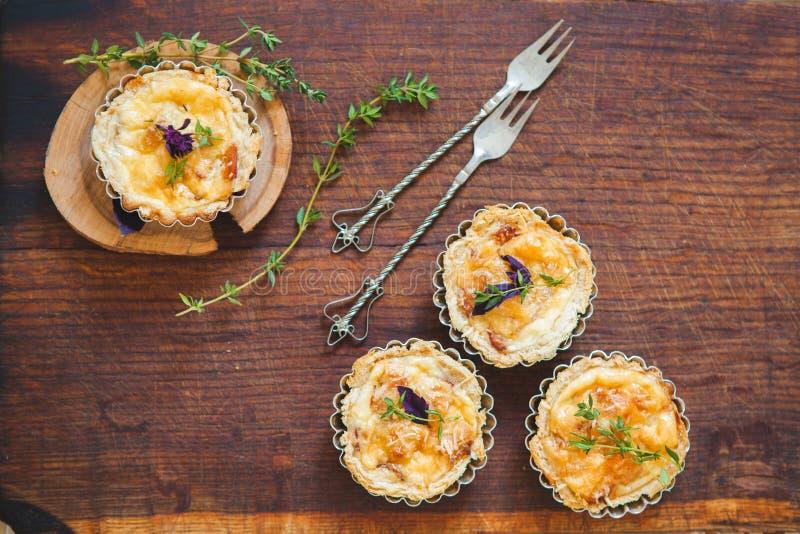 Download Fresh Quiche lorraine stock photo. Image of crust, golden - 83710456