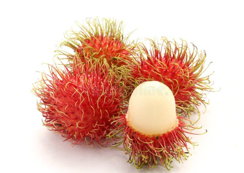 Fresh rambutan. Sweet delicious fruit of Thailand stock images