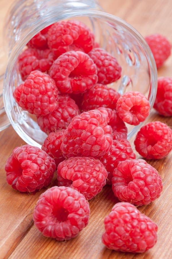 Download Fresh raspberries stock photo. Image of raspberry, plank - 21572008