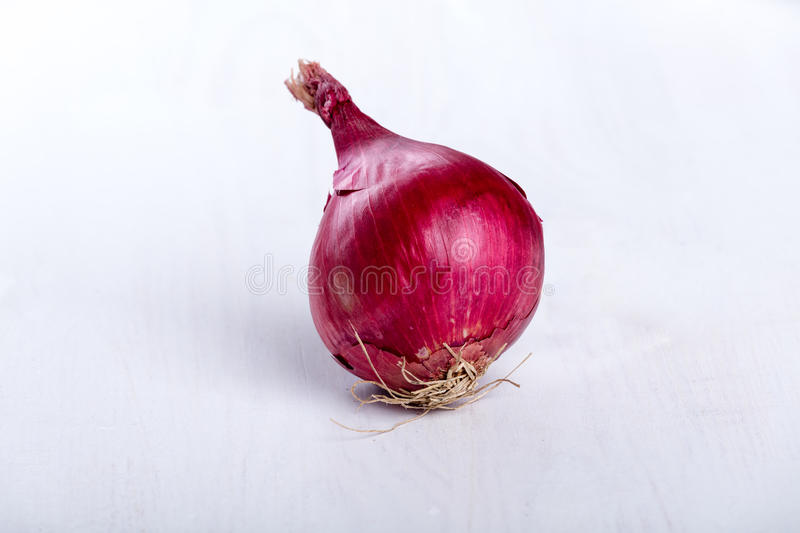 Fresh raw aromatic red onion.  royalty free stock photo