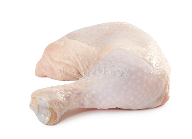 Download Fresh raw chicken leg stock image. Image of animal, cooking - 13617803