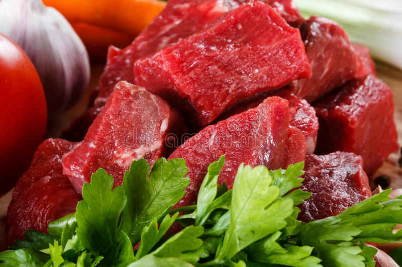 Download Fresh raw beef stock image. Image of carrots, beefsteaks - 29889519