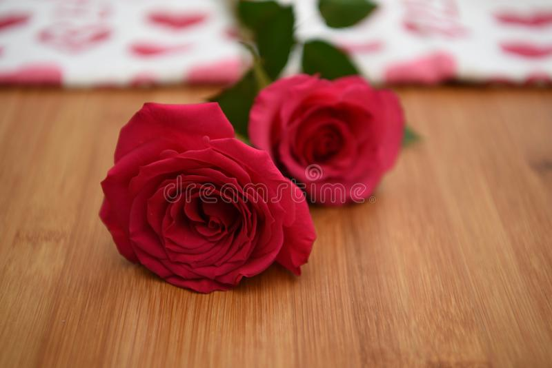 Download Close Up Flower Photography Image Of Fresh Red Roses On A Natural Rustic Wood Background