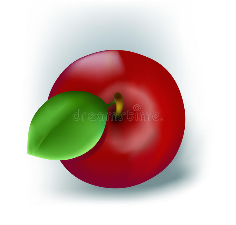 Fresh Red Apple Royalty Free Stock Image