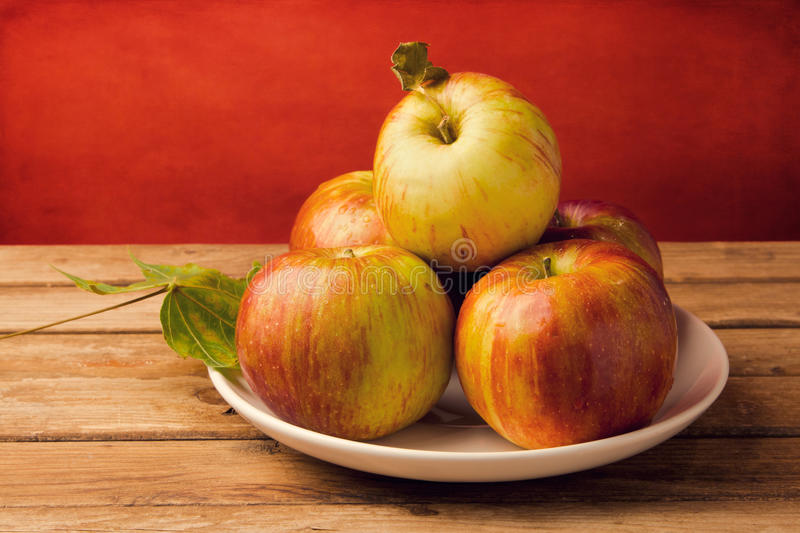 Download Fresh red apples stock photo. Image of tabletop, backdrop - 27044664