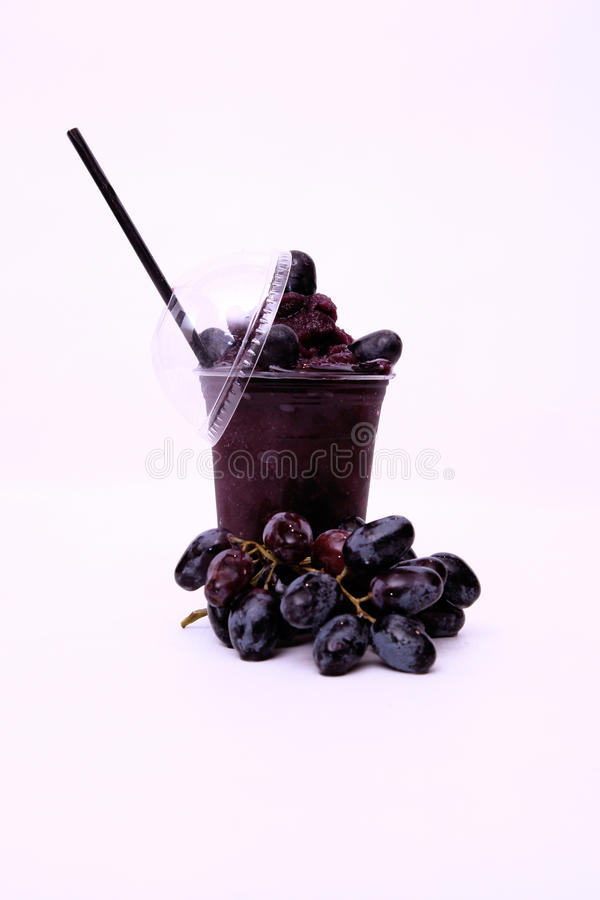 Fresh Red Grape Juice Royalty Free Stock Images