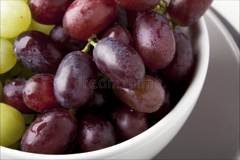 Fresh Red Grapes royalty free stock images