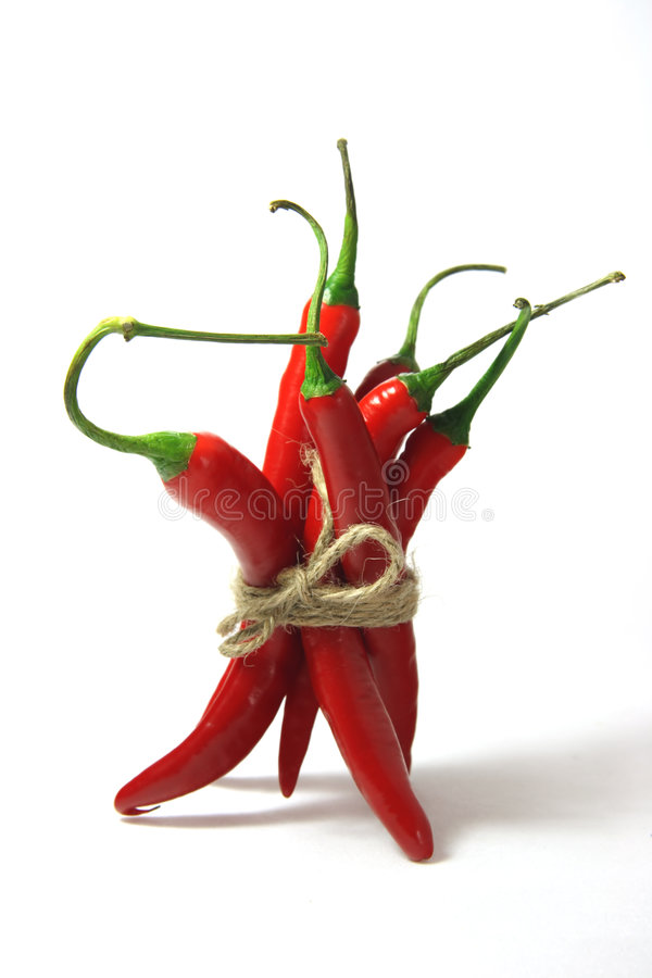 Free Fresh Red Hot Chillies Peppers Stock Image - 2601591