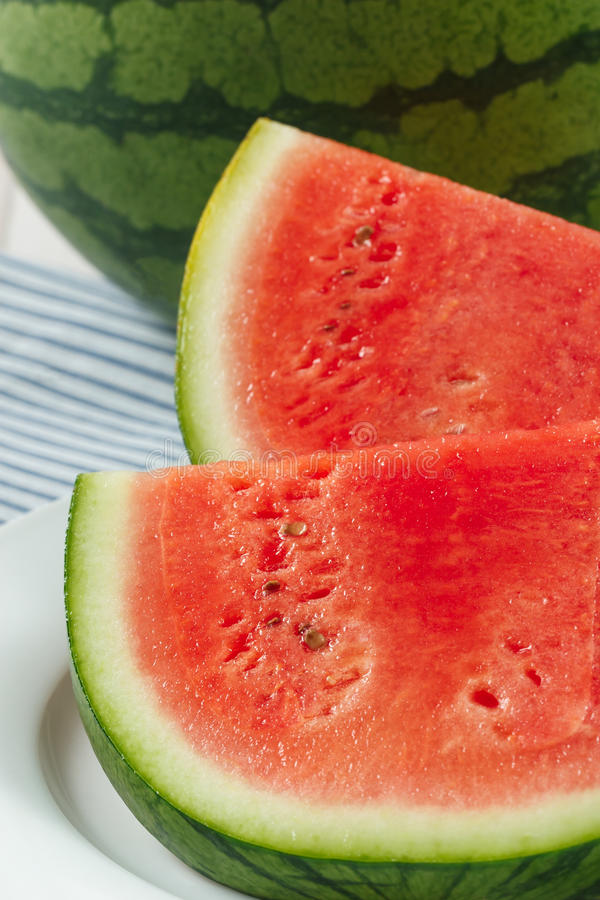 Download Fresh Red Watermelon Slices Stock Image - Image: 25599185