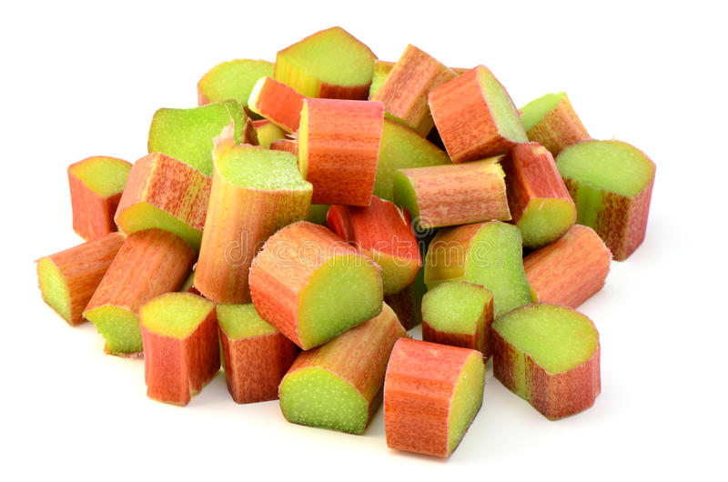 Download Fresh rhubarb stock image. Image of sour, rhubarb, chopped - 30624561