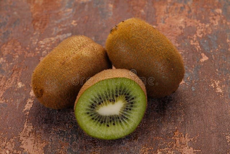 Fresh ripe kiwi stock image