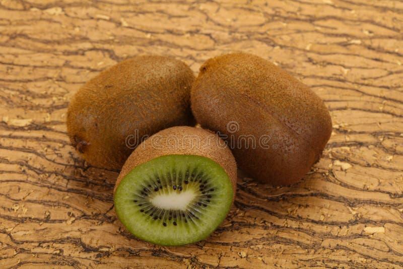 Fresh ripe kiwi royalty free stock photo
