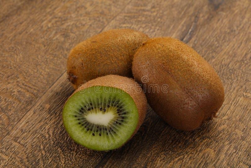 Fresh ripe kiwi royalty free stock photos